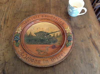 Ww 2 Trench Art Souvenir Of Austrian Occupation By US Forces