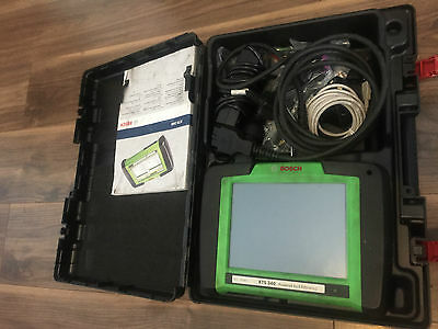 Bosch Kts 340 Diagnostic Machine Complete In Box