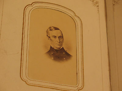CDV Gen Robt Anderson Ft. Sumter Civil War + G&M Washington + CDV 50 Photo Album