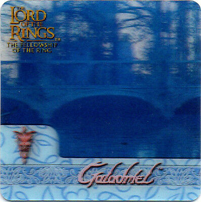 2002 Lord of the Rings ArtBox Action Flipz Lenticular #46 Galadriel