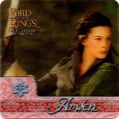 2002 Lord of the Rings ArtBox Action Flipz Lenticular #38 Arwen