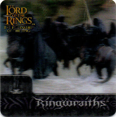 2002 Lord of the Rings ArtBox Action Flipz Lenticular #39 Ringwraiths