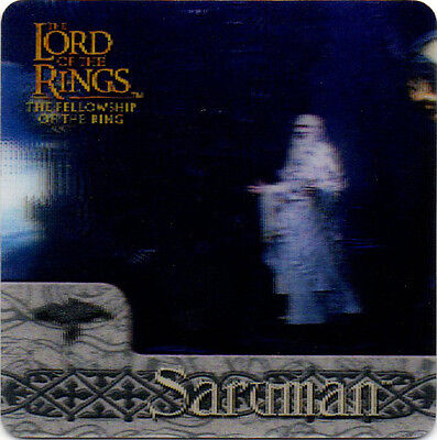 2002 Lord of the Rings ArtBox Action Flipz Lenticular #29 Saruman
