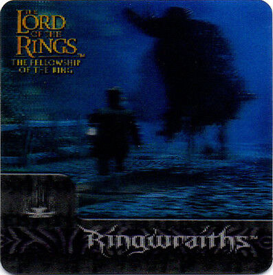 2002 Lord of the Rings ArtBox Action Flipz Lenticular #33 Ringwraiths