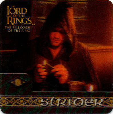 2002 Lord of the Rings ArtBox Action Flipz Lenticular #32 Strider