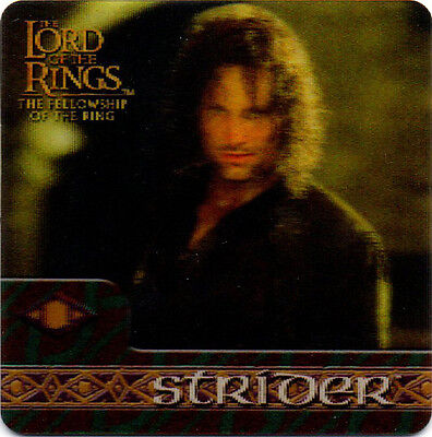 2002 Lord of the Rings ArtBox Action Flipz Lenticular #16 Strider