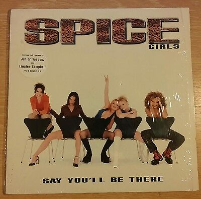 """Spice Girls - Say You'll Be There, 12"""" ."""