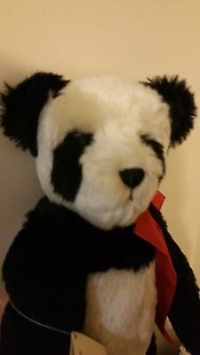 """Ling Ling 17"""" Panda Bear by Janet Reeves The Collectors Teddy Bear #2"""