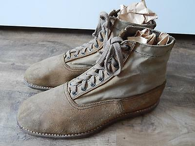 Italian ww2 Alpini mountain troops ankle boots in very good conditions!