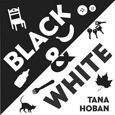 Black and White NEW Board Book Baby Pre School Learning Tana Hoban 9780061172113
