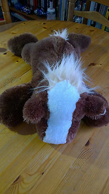 Pony Horse Soft Plush Toy  - Brown 50cm long