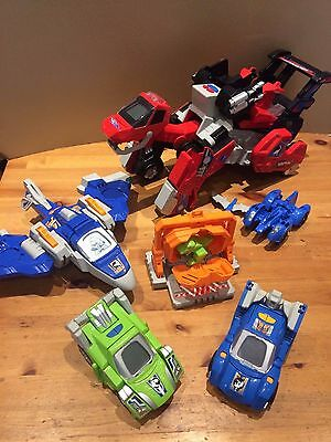Vtech Switch And Go Dinos Bundle /joblot/collection