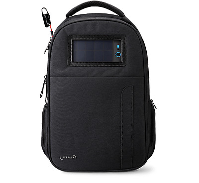 Solgaard Design Lifepack Backpack Stealth Black