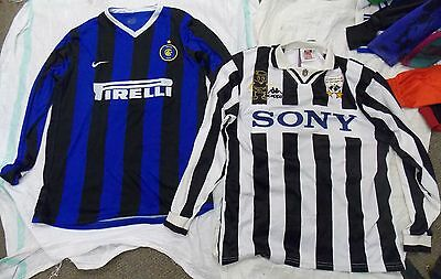Job Lot X 13 (INTERMILAN, BARCELONA, S.S. LAZIO, GREMIO) Football Shirts (AF-45)