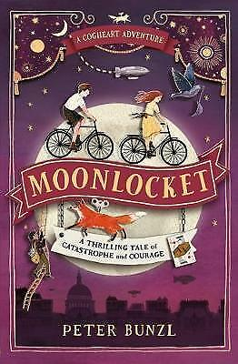 Moonlocket (The Cogheart Adventures #2) by Peter Bunzl Paperback BRAND NEW 2017