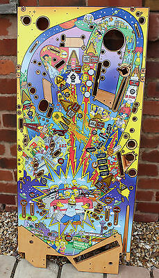 Playfield for Stern Pinball The Simpsons Pinball Party - NOS Superb