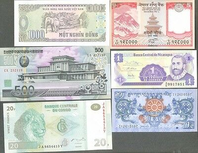 Banknotes World collection 50 all different uncirculated