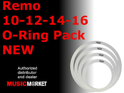 Remo 10-12-14-16 Rem-O-Ring Pack NEW