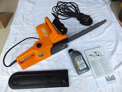 """Chainsaw Electric Husqvarna with blade 16"""" or 40 Cms"""
