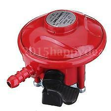 27mm 37 mbar Clip On Propane Regulator Fitting Caravan Patio Heater Gas BBQ Home