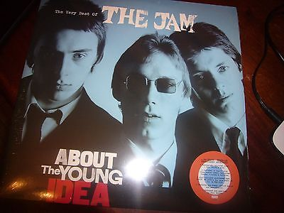 The Jam About the Young Idea Red White and Blue 3x vinyl ltd ed brand new sealed