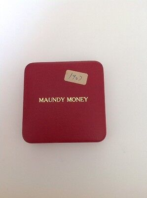 1907 maundy coin set