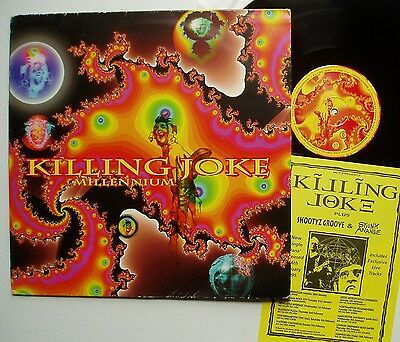 "KILLING JOKE - 12"" Single MILLENNIUM - 4 Track VINYL with REMIXES by YOUTH Punk"