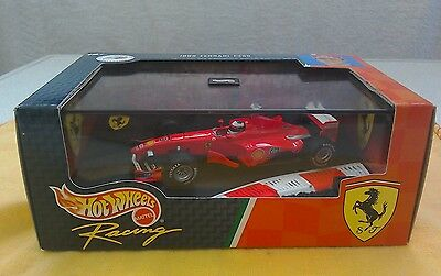 Hot Wheels 1:43 - Ferrari F399 1999 Car M. Schumacher - 24525 MINT IN BOX