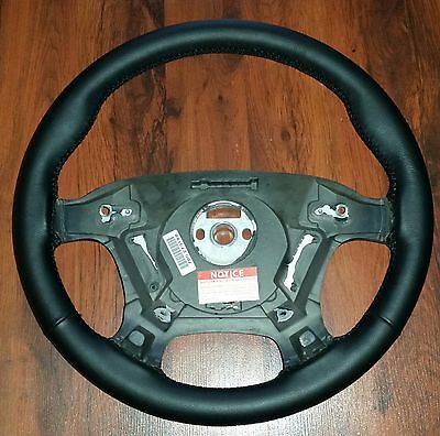 Holden Vt Vx Vu ss hsv black leather retrim steering wheel Exchange (Changeover)