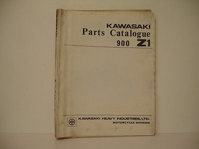 parts catalogue parts list catalogue pieces detachees KAWASAKI 900Z1