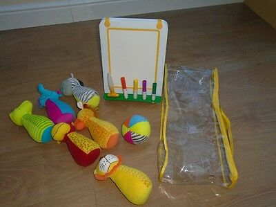 Bundle of toys - Doodle Pad and 6 pin soft bowling set