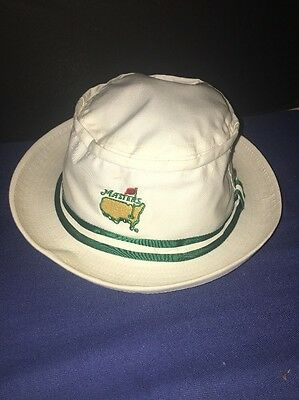 NEW Masters Golf Bucket Hat WHITE from Augusta National Golf Club - size S/M