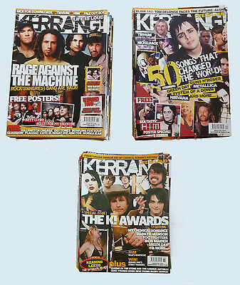Collection Of 74 KERRANG! Magazines