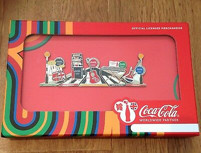 2012 London Olympic Pin Badges Abbey Road Set - Limited Edition