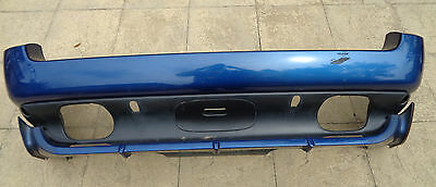 GENUINE RARE BMW X5 E53 4.6is 4.8is REAR BUMPER IN LEMANS BLUE - 5112705809