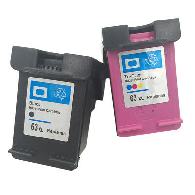 Quality Ink Cartridge for HP 63 XL for HP 63 Officejet 2620 for ENVY 4500 lot BR