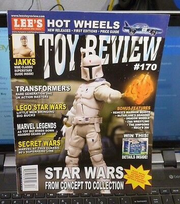 Lee's Toy Review Magazine Dec 2006 #170 - Star Wars / Hot Wheels / Transformer +
