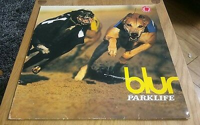 BLUR Parklife First Press Vinyl LP Record Album UK FOODLP10 UK 1994 VG-VG Rare