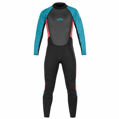 Yello Kids Boys Thresher Long Wetsuit Childrens WetSuits 2mm Age 5 -16 Yr