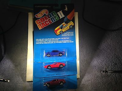 hot wheels color changers 2 from canada not sold in us 1989