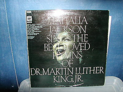 Mahalia Jackson-Sings the best loved hymns of Dr Martin Luther King jr LP 1968