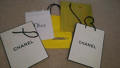 3 dior gift bags white