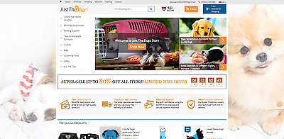 JustTheDogs.co.uk | Fun Dog Online Store Business For Sale |  | Dropshipping