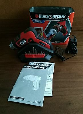 Black & Decker AS36LN 3.6V Lithium Autoselect Screwdriver with Screwholder