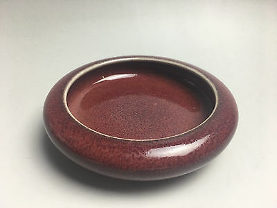 Free shipping rare Chinese porcelain red glaze brush wash