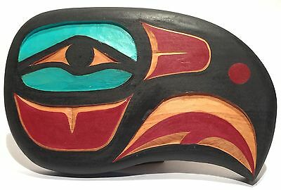 Brian Chilton Tlingit Alaska Pacific Northwest Native American Eagle Carving