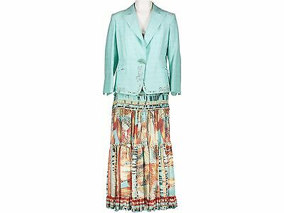 TAILLEUR GONNA  - MARTA PALMIER I- art.M60N7 - COL.TURCHESE- TG.44 -  SCONTO 90%