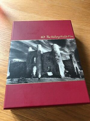 U2 The Unforgettable Fire Deluxe Box Set 2 CD DVD Book Prints