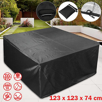 Outdoor Furniture Cover Garden Rattan Table Patio Set Rain Weather Protection