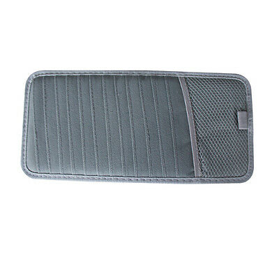 gary Car Sun  Visor CD DVD Disc Storage Fix Pouch Bag Holder Case 12 Slots